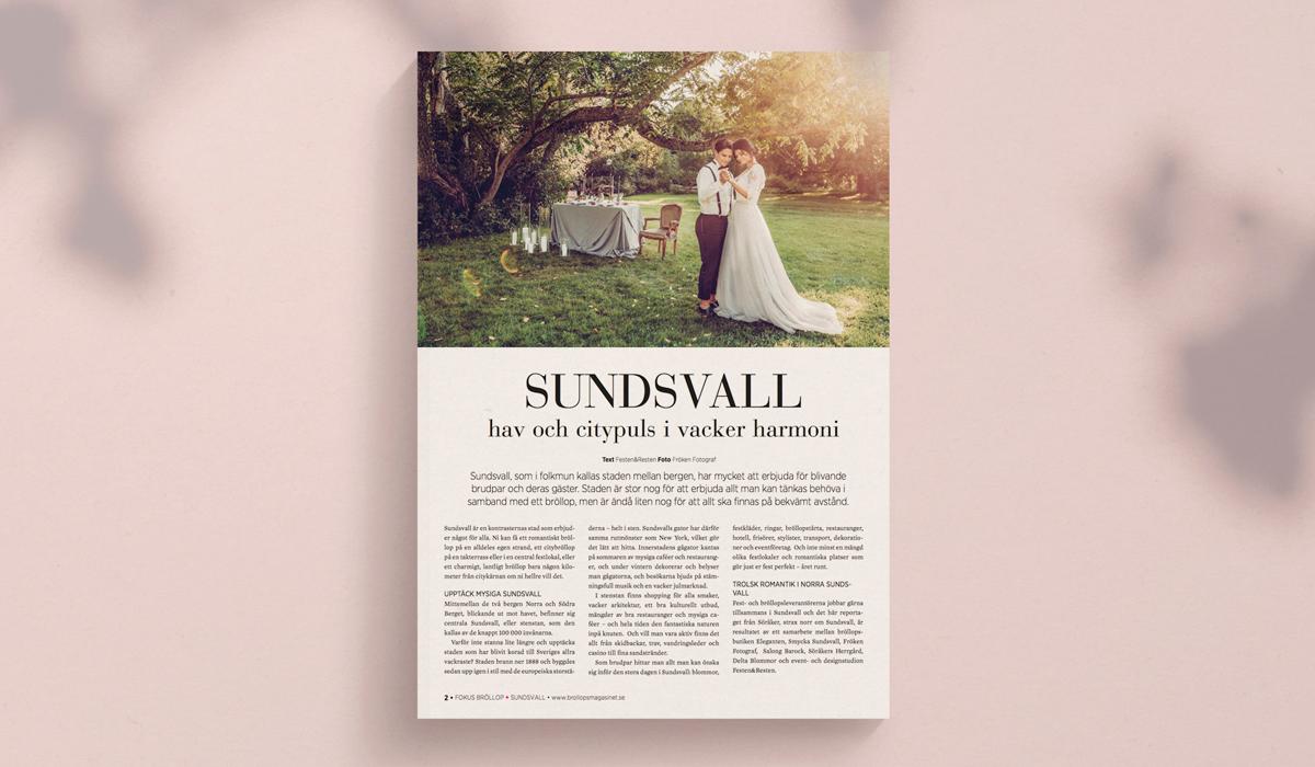 Bröllopsmagasinet reportage