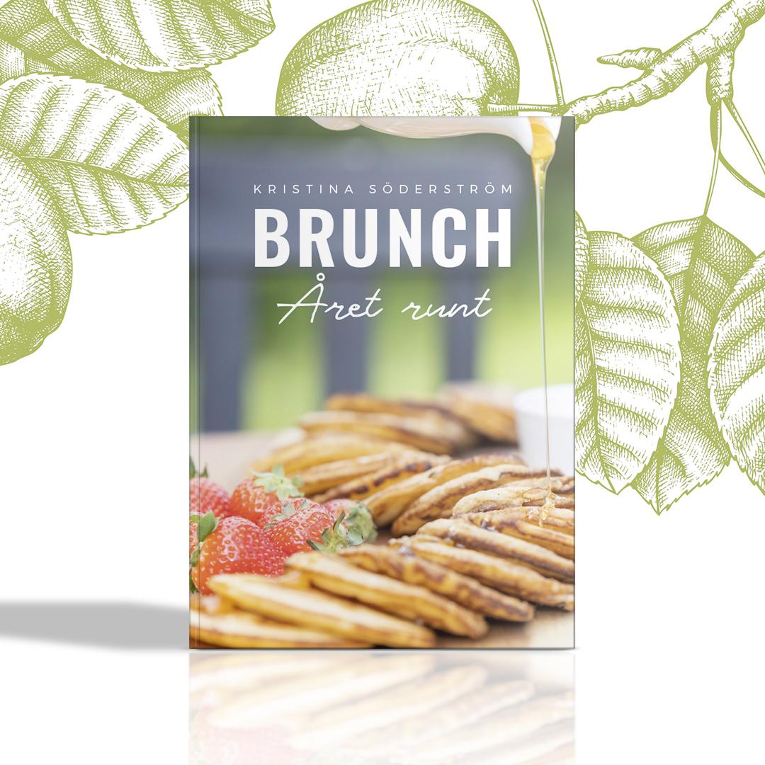 Formgivning av boken Brunch - Året runt