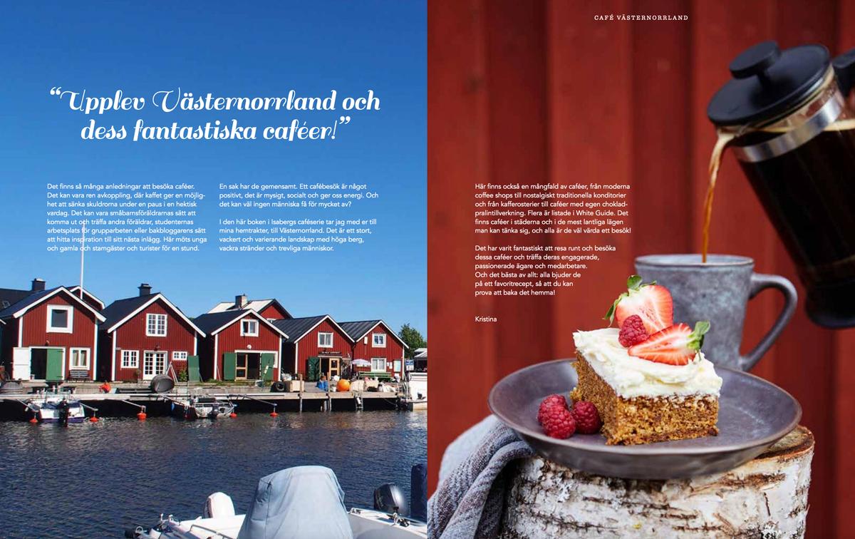Café Västernorrland uppslag intro